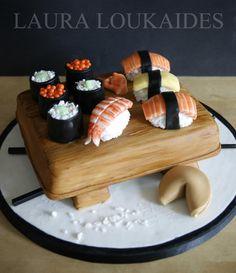 Sushi Cake - Cake by Laura Loukaides