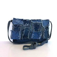 Small recycled messenger bag  by sisoi