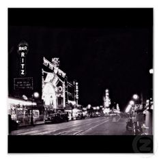 Poster-Vintage Dallas Photography-11 (Elm Street in 1929)