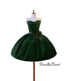 Ready to ship Bow Ball Gown Green Bow Dress with Ribbon Sash Special Occasion