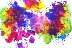 You can copy this colorful color impression at home - Painting ideas Diy For Kids, Crafts For Kids, Old Things, Things To Come, Montessori Toddler, Toddler Activities, House Painting, Painting Techniques, Kindergarten