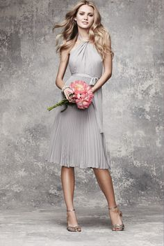 Angelina Jolie Inspired Strapless Chiffon Dress Worn to the 2009 Oscars.