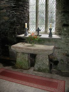 St Clether interior by the time bandit, via Flickr
