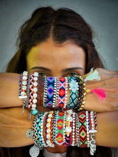 JewelryJo Gypsy Boho Hippie Bohemian Love Heart Lucky Elephant Dragonfly Butterfly Fleur-de-lis Leather Braided Rope Beads 8 inch Bracelets for Women - fashion friday- beautiful boho - Hippie Chic, Moda Hippie, Hippie Style, Bohemian Style, Bohemian Gypsy, Boho Chic, Hippie Masa, Ibiza Style, Bohemian Clothing
