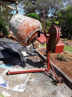 Electric  cement mixer in good conduction  ph 46987936 #rangloo, #bar, #accessories