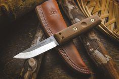 TOPS Knives Tanimboca Puukko Fixed Blade Knife