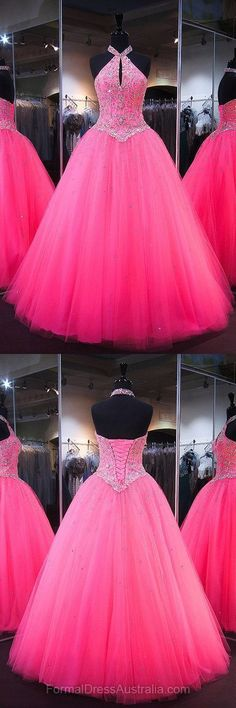 Unique Prom Dresses, Long Formal Dresses Pink, Floor-length Formal Dress Tulle, Cheap Party Dresses, There are long prom gowns and knee-length 2020 prom dresses in this collection that create an elegant and glamorous look Sparkly Prom Dresses, Cheap Party Dresses, Prom Dresses For Teens, Prom Dresses 2018, Long Prom Gowns, Prom Dresses Online, Ball Dresses, Pretty Dresses, Beautiful Dresses