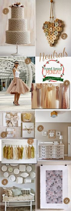 Mood Board Monday | Neutrals | Life as we know it blog