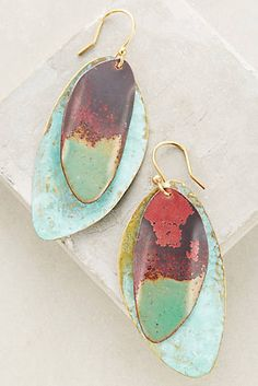 Ancestral Drops boho earrings @anthropologie