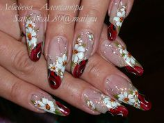 OK Nail Polish Designs, Nail Designs, Flower Nail Art, Minimal Chic, Short Nails, Hair Makeup, Hair Beauty, Work Nails, Polish Nails