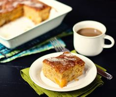 I shared the recipe for my family's favorite peach cake here a couple years ago. The cake is pillowy tender, with sweet golden peaches in each bite, and the most delightful thin crust of baked Peach Cake Recipes, Fruit Recipes, Sweet Recipes, Cookie Recipes, Dessert Recipes, Desserts, Summer Recipes, Breakfast Recipes, Dinner Recipes
