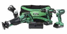 "Case For Drill Battery 18 Volt 18V New Hitachi 24"" Heavy Duty Tool Bag Saw"
