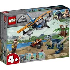 LEGO® Jurassic World™ 75942 Vélociraptor : la mission de sauvetage en avion Lego 4, Buy Lego, Lego Minecraft, Lego Ninjago, Lego Duplo, Lego Minifigs, Jurassic World 4, Jurassic World Characters, Lego Jurassic World Dinosaurs
