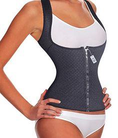 52802770c454f Cheap Hides Tummy FatGotoly Waist Trainers Zipper Training Corsets Tank Top  deals week Maternity Belt