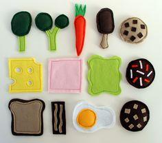 Felt Food: breakfast, lunch, dinner & afternoon tea - via http://exexp.at