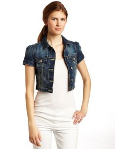 HIGHWAY Short Sleeve Denim Jacket | Jackets | Stitch Fix ...
