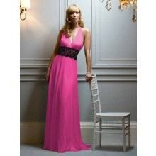 Full-length Pale Pink Party Dresses KC8A1649