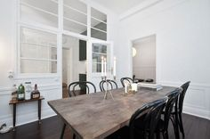 Great tips on renovating. And a mighty cool dining room too.