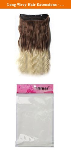 Long Wavy Hair Extensions - SODIAL(R) Real Thick Hair Extensions Long Wavy Curly Synthetic Wigs Clip Brown + Light-gold 61cm. * SODIAL is a registered trademark. ONLY Authorized seller of SODIAL can sell under SODIAL listings.Our products will enhance your experience to unparalleled inspiration. SODIAL(R) Real Thick Hair Extensions Long Wavy Curly Synthetic Wigs Clip Brown + Light-gold 61cm Length (without stretching) : 61cm Color: Brown + Light-gold Clip in hair extensions care…