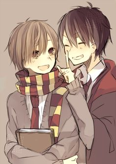 Harry Potter Remus Lupin and Sirius Black