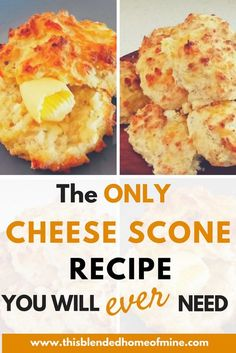 3 Ingredient Savory Cheese Scones – These 3 Ingredient Savoury Cheese Scones are super easy to make and so versatile, you can add anything to it. Perfect for breakfast, brunch or whenever! Savory Scones, Savory Muffins, Savory Snacks, Savoury Slice, Savoury Biscuits, Tea Biscuits, Cheese Biscuits, Buttermilk Biscuits, Bolacha Cookies