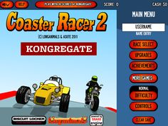 Would you like to play Racing game?? then play #CoasterRacer2  #Drivingames #flashgamenation