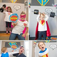 How to Throw a Super Hero Birthday Party