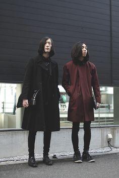 [Street Style] Nukagadaisuke & Yamagakengo | Student | Harajuku (Tokyo)