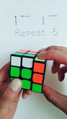 Rubiks Cube Patterns, Solving A Rubix Cube, Magic Tricks Tutorial, Everyday Hacks, Rubik's Cube, Art Drawings For Kids, Diy Crafts Hacks, Useful Life Hacks, Bead Crochet
