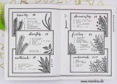 Image result for bujo page inspiration