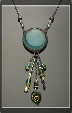 Monica van der Mars biography and jewelry photos
