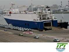 """TUXPAN PORT TERMINAL. The Mexican Ministry of Communications and Transport reported that in the first quarter of this year, """"The country's ports managed 299,920 vehicles, which means a 35.7% increase over the same period last year."""" With the latest technology, Tuxpan Port Terminal will specialize in the loading and unloading of vehicles, offering competitive advantages to its clients. #tpt #tuxpanportterminal"""