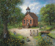 Old Schoolhouse  by McNaughton