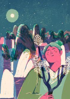 桂林 生活杂志.jpg Lisk Feng Illustration : )