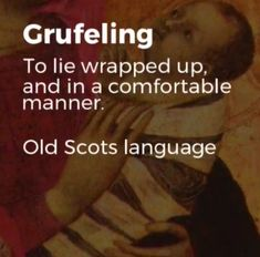 From old Scottish Gaelic (swaddled)
