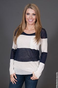 AllyKat Oversized Sweater $58.00 #scottsdalejeanco #sjc #springfashion #AllyKat #allykatclothing #stripesweater