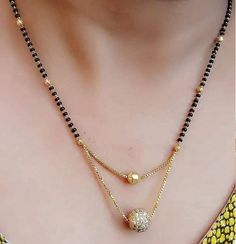 Gold Mangalsutra 200 Ideas In 2020 Gold Mangalsutra Mangalsutra Black Beaded Jewelry