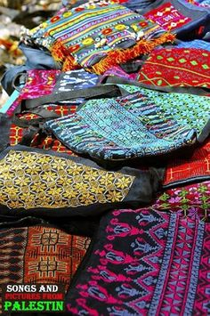 Made in Palestine  Embroidered bags