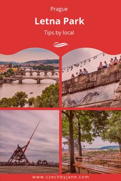 Explore the Letna park with the most panoramic views of Prague, discover the beer garden and watch the sunset from the former monument of Stalin. Prague City, Prague Czech, Beer Garden, Nice View, Futuristic, Closer, Paths, Restaurant, Good Things