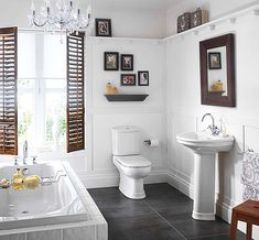 Small White Colored Bathrooms To Get A Huge Functions Freshnist