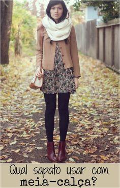 Qual sapato usar com meia-calça? | luvmay.com.br