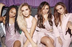 """British girl group Little Mix premiered a new song """"Shout Out To My Ex"""" on Spotify."""