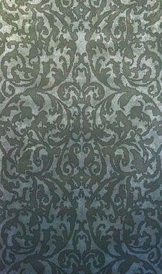 antique damask. designer wall coverings.