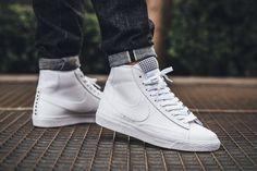 finest selection 1af49 a1b47 NIKE BLAZER MID PRM VNTG WHITE brīvā laika apavi - LIFESTYLE APAVI UNISEX…  Sneaker Magazine