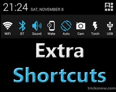If you are missing some of your favourite Notification Shortcuts or if you want to add an App's Shortcuts in your Notifications? then you can do it easily by executing some minor change in your Status Bar of Android. Notification Shortcuts are getting reduced with each every Release of Android and at that time, you may need to add their [...]