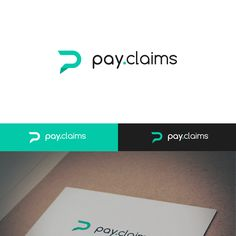 pay.claims - Design modern logo with matching business card