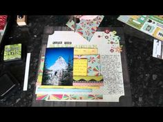 Video - Shimelle's National Scrapbooking Day 2013 kit - 5 pages
