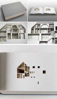 Commissioned by the Library Council of the Museum of Modern Art, Danish architect, Olafur Eliasson, made this beautiful book, with 454 laser-cut leaves, which shows a cross section of his own house in Copenhagen  Read more at http://www.oddee.com/item_98149.aspx#c5iFWqZDPZoGCMvf.99