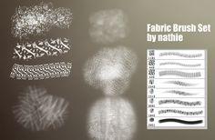 Fabric / Brocade Brushset by nathies-stock.deviantart.com on @deviantART Free Photoshop, Photoshop Brushes, Photoshop Tutorial, Magazine Art, Brush Set, Tool Design, Digital Illustration, Creative Art, Painting & Drawing