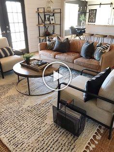 Boho Living Room, Home And Living, Living Room Decor, Modern Living, Small Living, Cozy Living, Den Decor, Bedroom Decor, Industrial Living Rooms